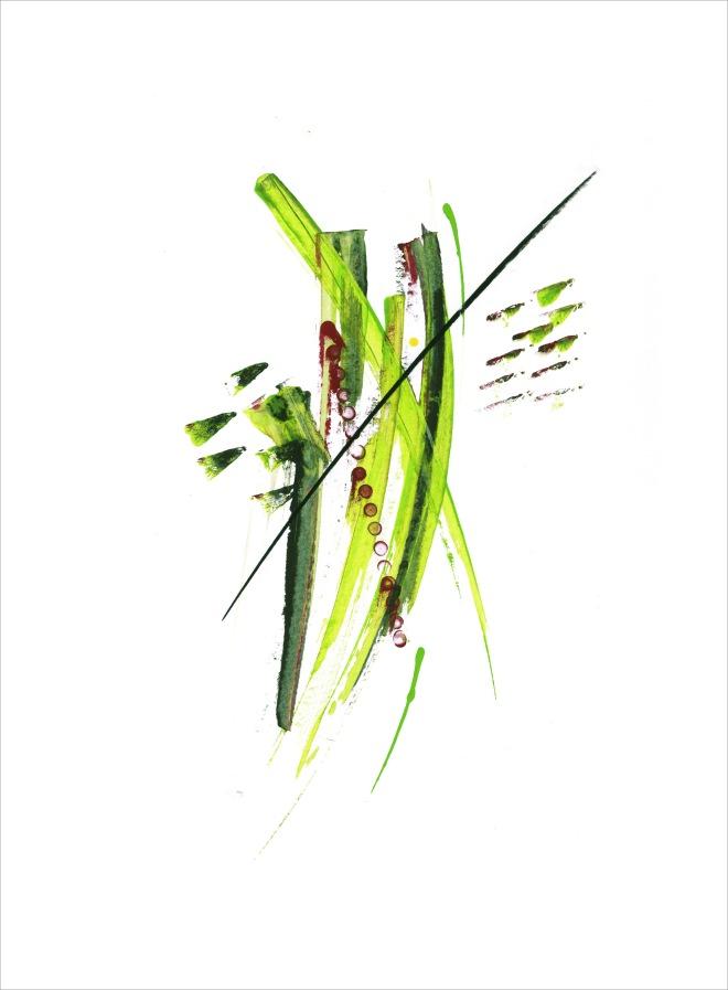 Green slash