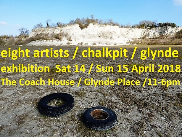 Chalkpit. An exhibition of contemporary art at GlyndePlace