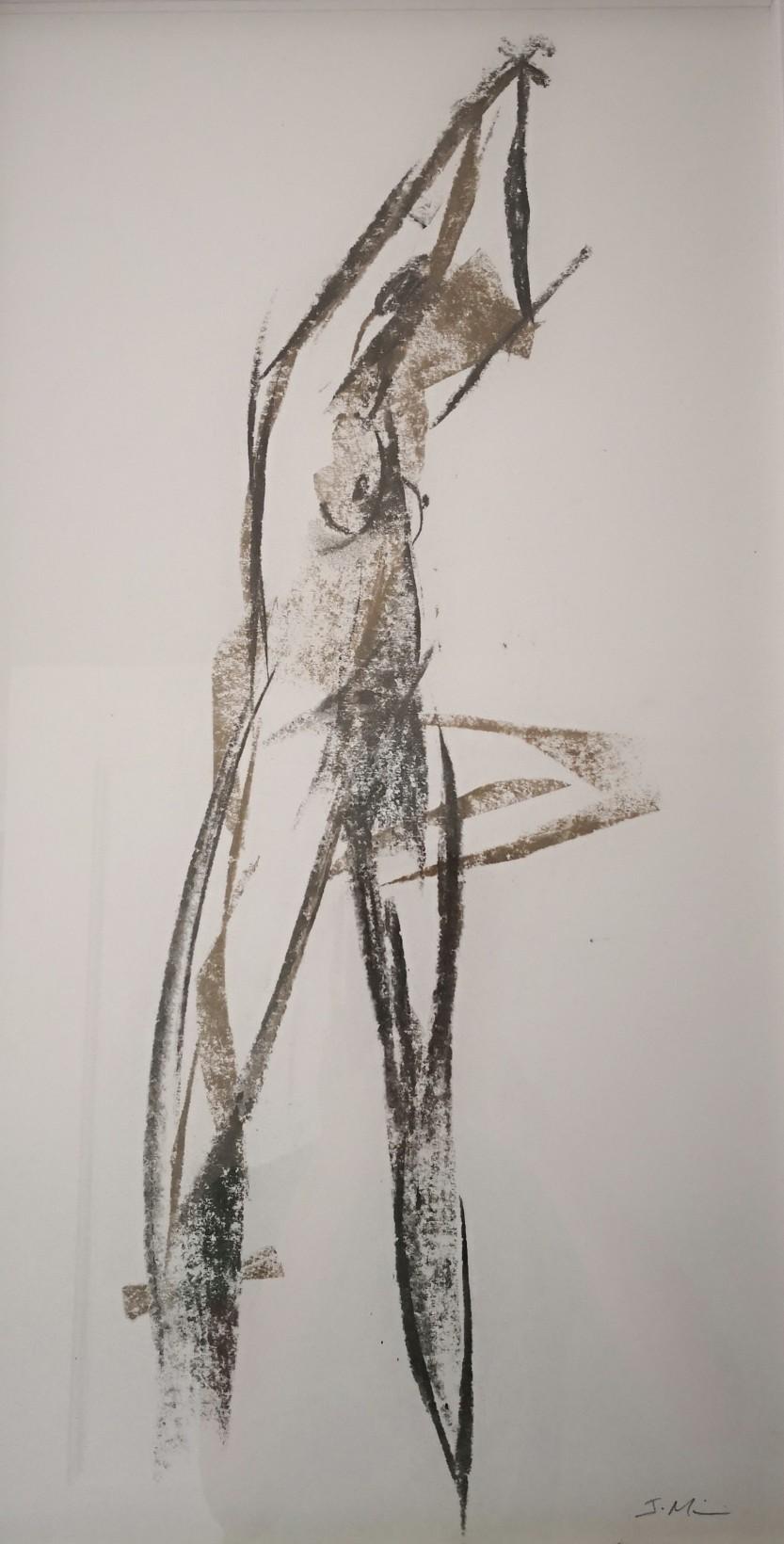nude - charcoal