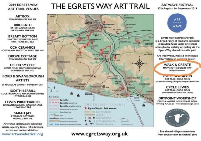 egrets way map