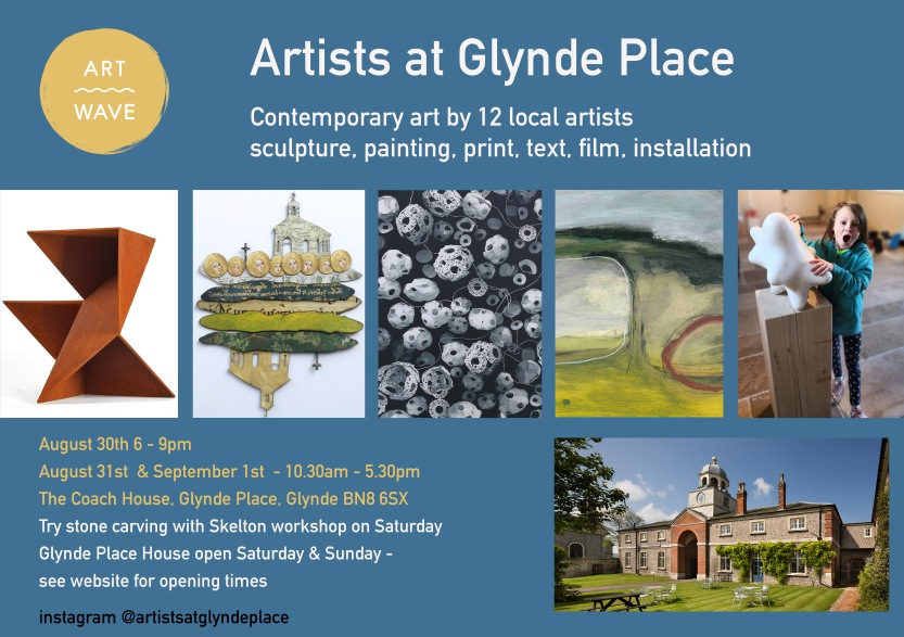 Artists at Glynde place flyer (1)