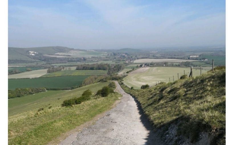 Walk and create in the SussexDowns